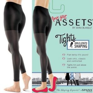 SPANX Gray Footless Hi-Waist Convertible Leggings